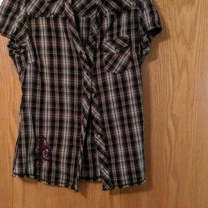 Plaid blouse-a little different